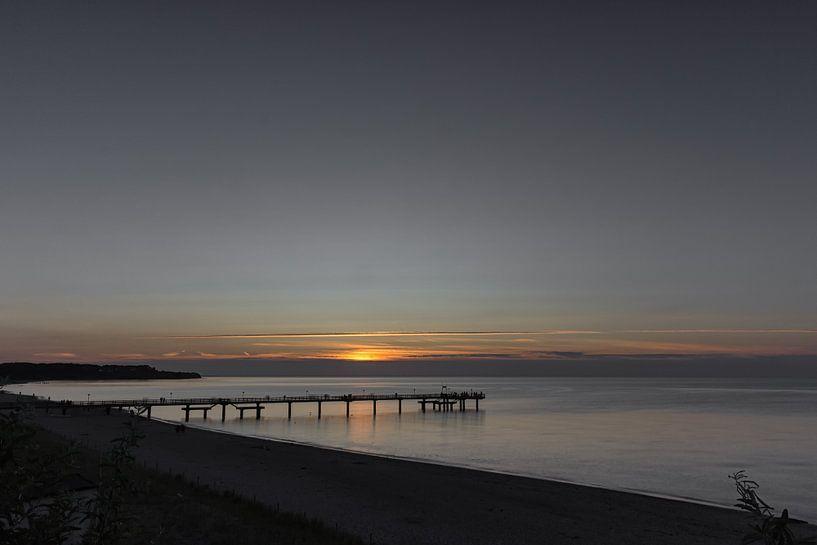 Sonnenuntergang am Meer van Andreas Stach
