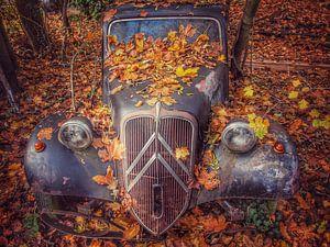 Citroën Traction old timer von Creativiato Shop