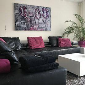 Kundenfoto: Tulpen von Femke van der Tak (fem-paintings)