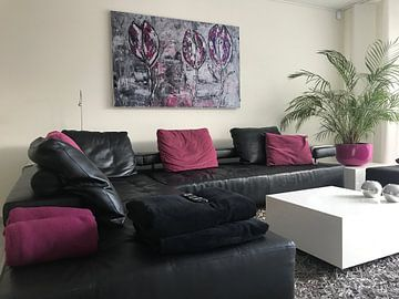 Klantfoto: Tulpen van Femke van der Tak (fem-paintings)