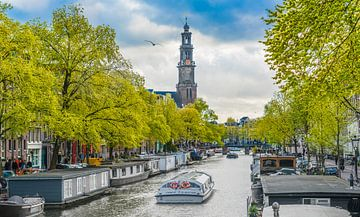 Der Westertoren in Amsterdam von Ivo de Rooij