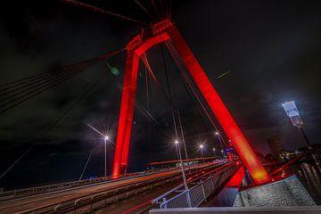 Willemsbrug - Rotterdam sur Bram Kool