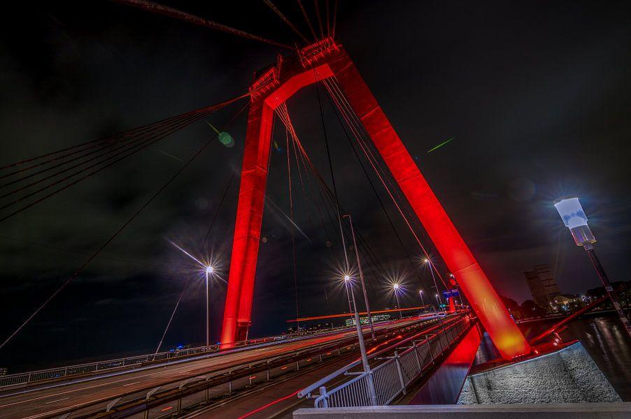 Willemsbrug - Rotterdam van Bram Kool