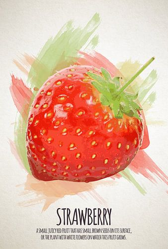 Fruities Aardbei van Sharon Harthoorn