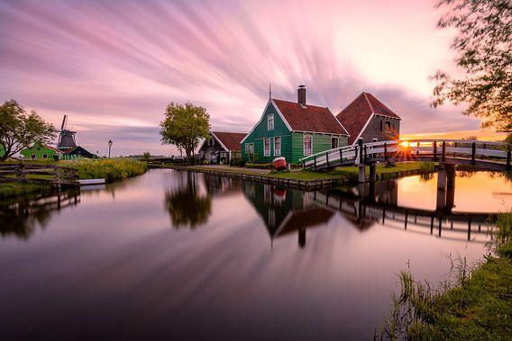 Sunrise delight in Zaanse Schans