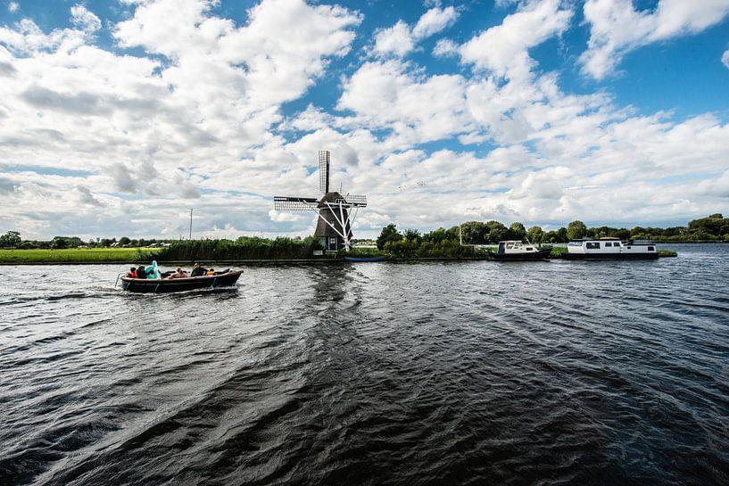 Oude Windmolens in Nederland. van Brian Morgan