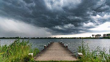 Unwetter in den Niederlanden im Anmarsch von Remco Piet