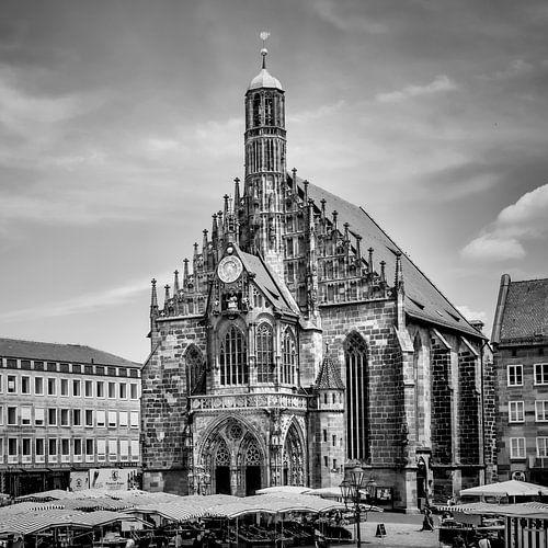NUREMBERG Frauenkirche & Grote Markt van Melanie Viola