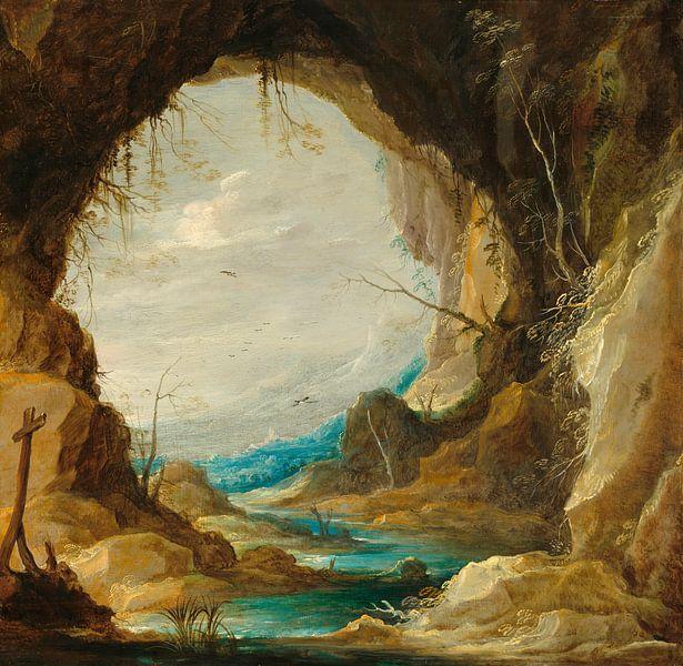 Blick aus einer Grotte, David Teniers II von Meesterlijcke Meesters