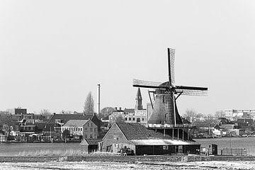 Molen Zaanse Schans van Karsten van Dam