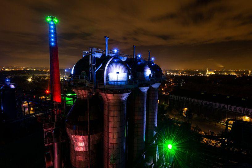 Ruhrgebied Duitsland - Industrie fotografie -2 van Damien Franscoise