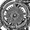 De tandwielen van de oude kerkklok van Martin Bergsma thumbnail