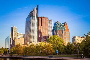 Skyline Den Haag Zentrum von Marc Hederik