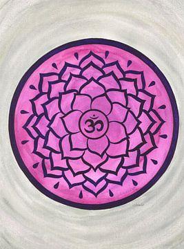 Kroonchakra Mandala Sahasrara van Sandra Steinke