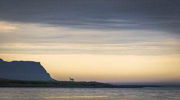Die verlassene Kirche von Island von René van Leeuwen