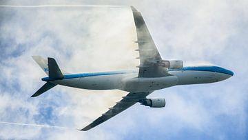Airbus A330 met condensatie