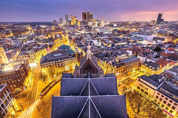 Skyline The Hague City von Original Mostert Photography