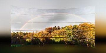 Regenboog van Christine Nöhmeier
