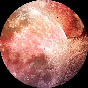 MOON under MAGIC SKY IV-2 van Pia Schneider