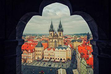 Prague - Old Town Square van