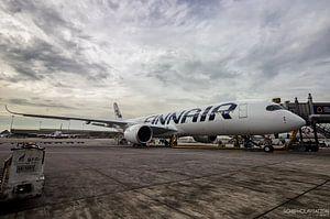 Finnair A350 in Bangkok van hugo veldmeijer
