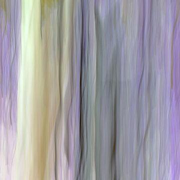 Vertikale Zusammenfassung mit Pastellbändern von Ronald Smits