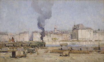 Arthur Streeton, Boulogne - 1918 van Atelier Liesjes