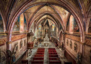 Verlasse die französische Kirche von Kelly van den Brande
