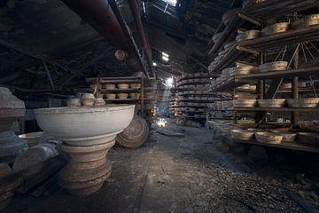 poterie abandonnée sur Kristof Ven