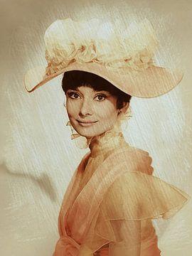 Audrey Hepburn van Rudy & Gisela Schlechter