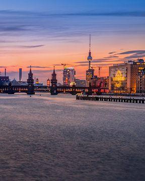 Berlin Skyline sur Iman Azizi