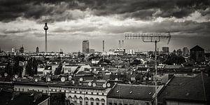 Black and White Photography: Berlin – Skyline-Panorama