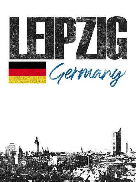 Leipzig Duitsland van Printed Artings