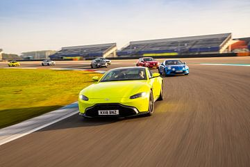 Aston Martin Vantage van Martijn Bravenboer