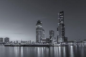 Rotterdam Skyline - Wilhelminapier - 2 von Tux Photography