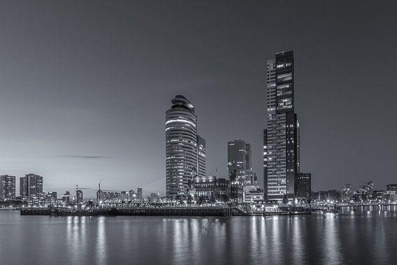 Rotterdam Skyline - Wilhelminapier - 2