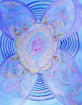 Healing Brain Pulse van Parallel Dream Art