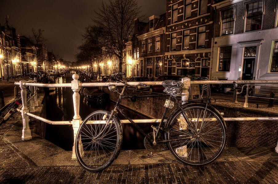 Haarlem at night
