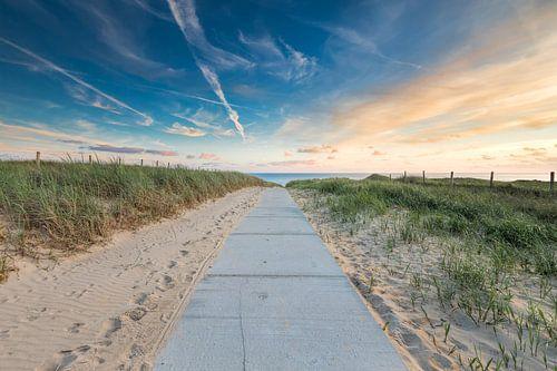Strandopgang in Noord-Holland