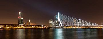 Skyline van Rotterdam van Stephan Neven