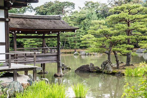 Japanse Temple van Celina Dorrestein