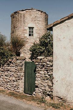 Runder Steinbau auf der Île de Ré - Frankreich von Oog in Oog Fotografie