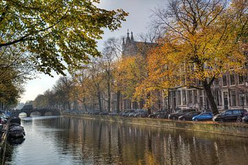 Herfst in Amsterdam van