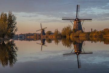 Les moulins et l'eau : Kinderdijk sur Eyeteasers