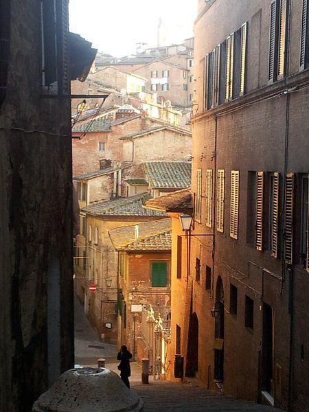 straatje in Sienna