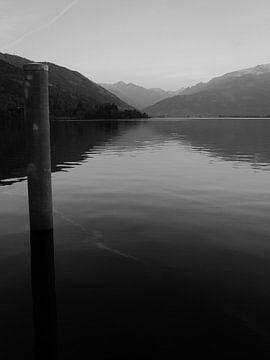 Zell am See Oostenrijk van Mighuel Geutskens