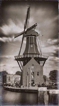 Mühle De Adriaan in Haarlem von Jan van der Knaap