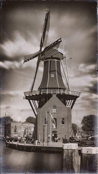 Molen De Adriaan in Haarlem van Jan van der Knaap