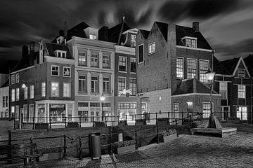 Dordrecht Niederlande Schwarz Weiss von Peter Bolman