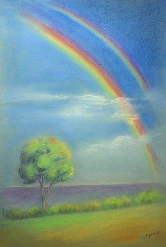 Licht en de regenboog - Hemelse Impression